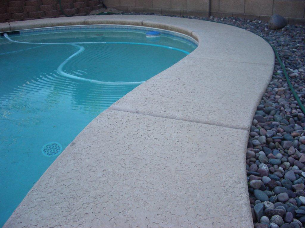 Pool deck restoration tucson pool deck repair and painting before baanklon Choice Image